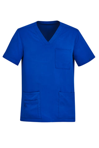 BIZCARE CST945MS MEN'S V-NECK SCRUB TOP 4 COLOURS - REDZ WORKWEAR + TOOLS NORTH LAKES