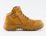 STEEL BLUE PARKES ZIP SIDED COMPOSITE TOE WHEAT - REDZ WORKWEAR + TOOLS NORTH LAKES