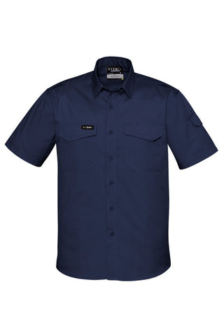 SYZMIK ZW405 MENS RUGGED COOLING S/S SHIRT - REDZ WORKWEAR + TOOLS NORTH LAKES