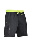 SYZMIK ZS240  MENS STREETWORX STRETCH WORK BOARD SHORT - REDZ WORKWEAR + TOOLS NORTH LAKES