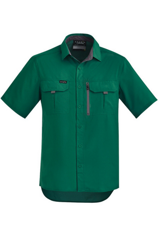 SYZMIK ZW465 OUTDOOR SHIRT S/S 4 GREAT COLOURS - REDZ WORKWEAR + TOOLS NORTH LAKES