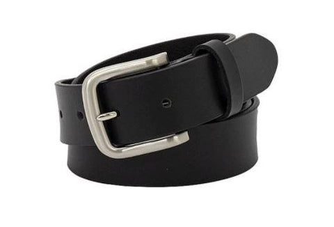 "REDZ - BUCKLE ""Slate"" Leather Belt 35mm (5088)"
