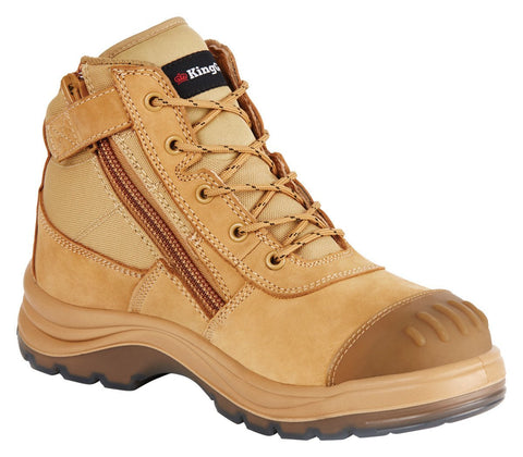KING GEE K27100 TRADIE ZIP BOOT