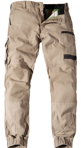 FXD WP◆4 STRETCH CUFFED WORK PANTS 3 GREAT COLOURS - FREE GIFT - REDZ WORKWEAR + TOOLS NORTH LAKES