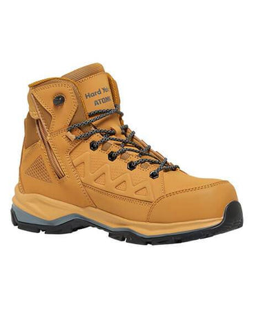 HARD YAKKA Y60280 Atomic Safety Boot - Wheat - REDZ Workwear