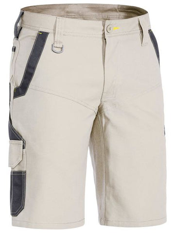 BISLEY BSHC1130 FLEX & MOVE™ STRETCH SHORT - redz WORKWEAR