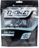 THORZT SUGAR FREE SOLO SHOTS 50 PACK - REDZ WORKWEAR + TOOLS NORTH LAKES