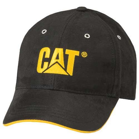 CAT PW01434 TRADEMARK MICROSUEDE CAP - REDZ WORKWEAR + TOOLS NORTH LAKES