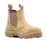 STEEL BLUE 512701 HOBART LADIES PULL ON BOOT - SAND