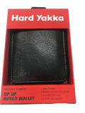 HARD YAKKA Y22378 Leather Zip Wallet - REDZ