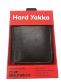 HARD YAKKA Y22378 Leather Zip Wallet BROWN - REDZ