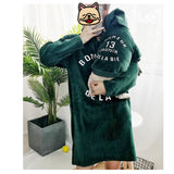 Matching Pet Owner Set - Emerald Green Hoodies Dress and Hoodie Set