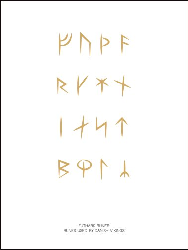 No. 106-2 VIKING RUNES GOLD