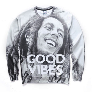 Bob Marley Good Vibes Sweatshirt