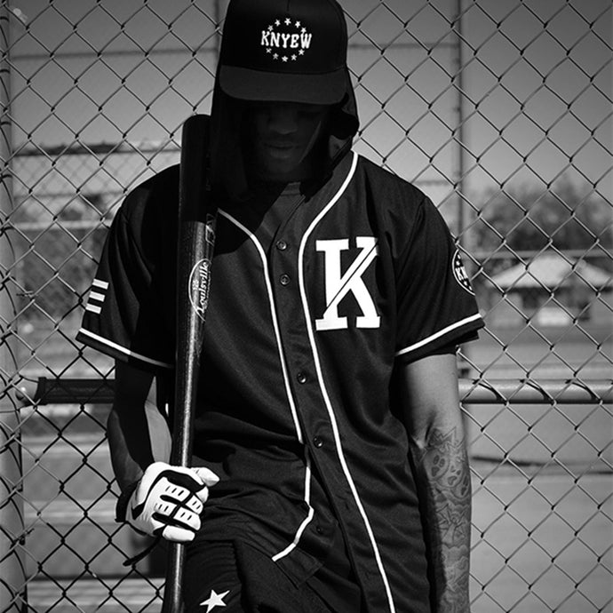 KNYEW Allover Baseball Jersey