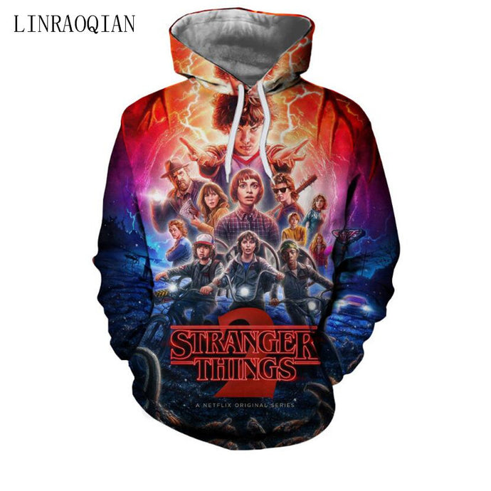 Stranger Things New 3D Hoodies