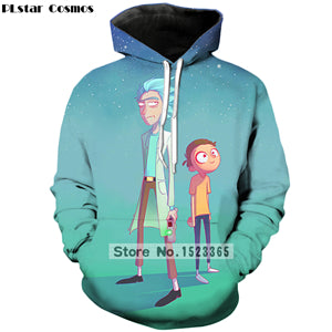 Rick and Morty World Collection 2 (4 Collections)  3D Hoodies