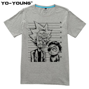 Yo-Young Rick And Morty Bad T-shirts 100%