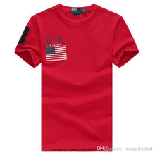 High Quality Cotton Flag O-Neck short Sleeve T-Shirt Fashion