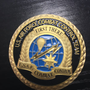 US Air Force Combat Control Team Challenge coin