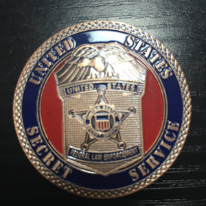 challenge coin of Federal Law Enforcement
