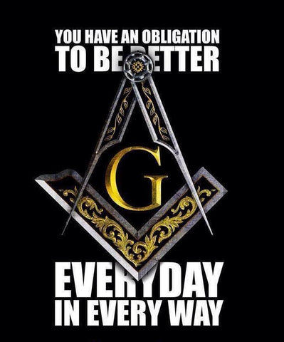to be better masonic