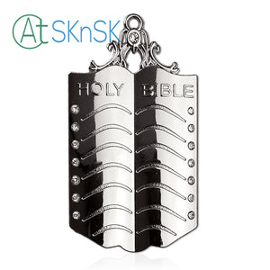 Masonic Chaplain Silver Jewel Pendant the Holy Bible