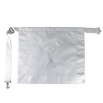 Masonic Blue Lodge Master Mason White Apron