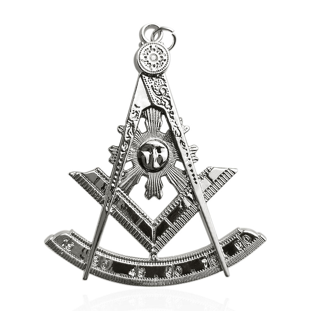 Masonic Past Master Silver Jewel Pendant