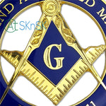 Prince Hall Free and Accepted Masons Car Emblem