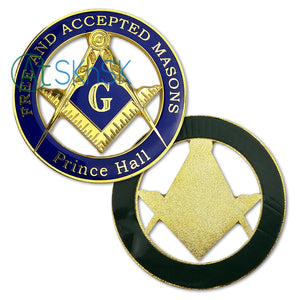 Prince Hall Free and Accepted Masons Car Emblems Masonic Gift