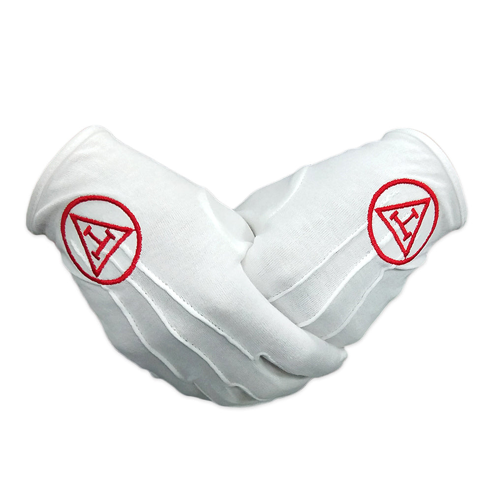 Masonic Royal Arch White Gloves