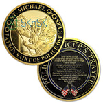 Police Officer's Prayer St Michael Challenge Coin