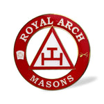 Loyal Arch Masons Auto Car Emblem