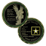 United States Army Values Challenge Coin