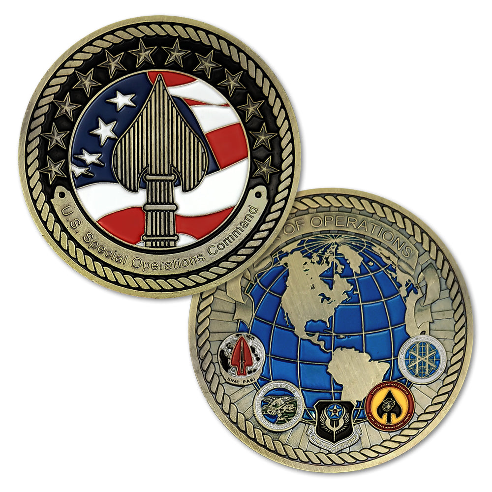 United States Special Operations Command Challenge Coin