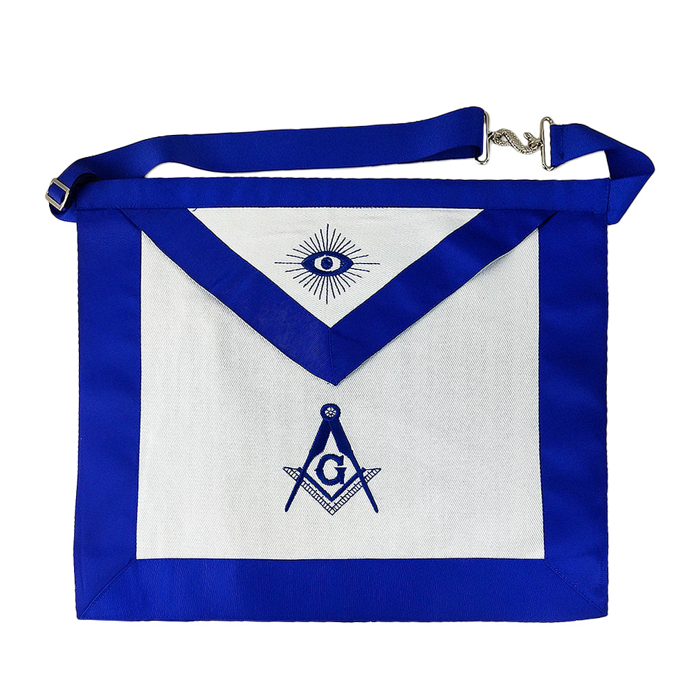 Masonic Blue Lodge Master Mason Apron