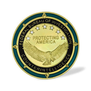 FBI Veterans Protecting US Challenge Coin