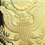 The Great Seal Of The United States' Challenge Coin Gold Edition