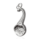 Masonic the Right Harvest Basket Sliver Jewel Pendant