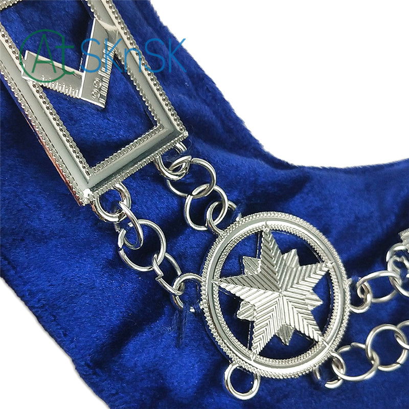 Masonic Blue Lodge Craft Working Tools Chain Collar