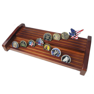 Single/ Double/ Triple Cherry Tiers Challenge Coin Display