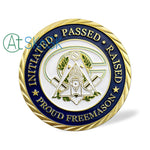 Mason Mottoes Of Freemasonry's Challenge Coin