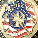 US Firefighter St Florian Challenge Coin