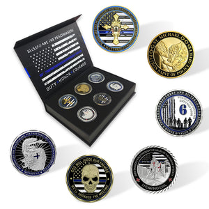 LEO Challenge Coin Gift Pack 6 Coins PRE-ORDER