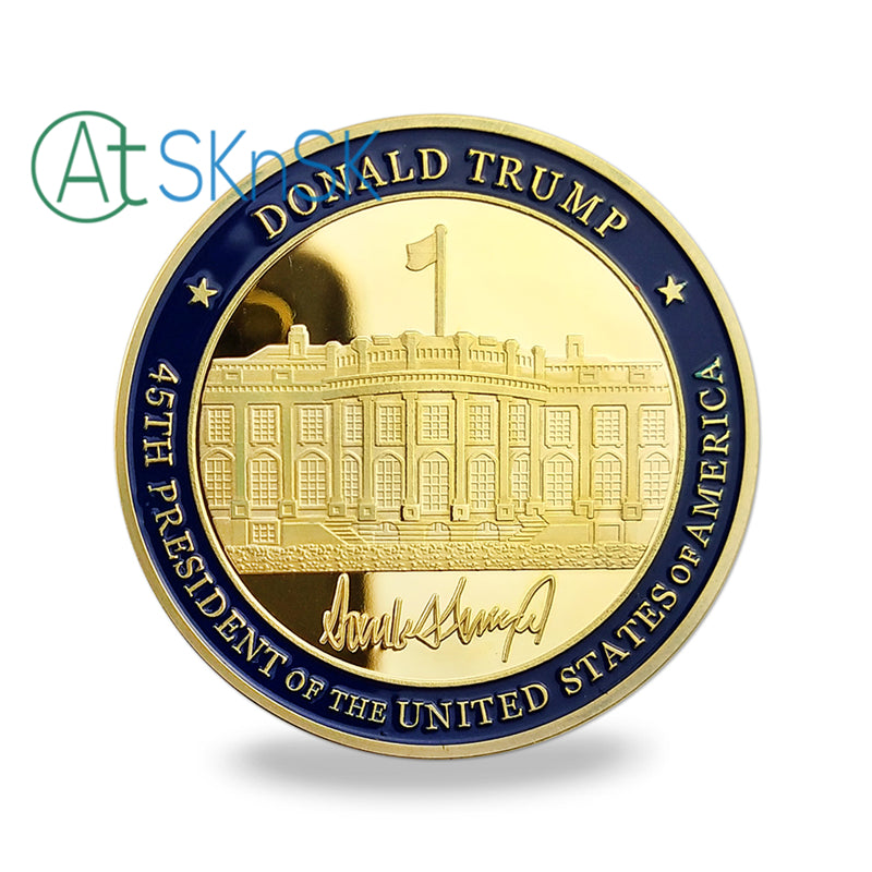 Donald Trump's Signiture White House Challenge Coin