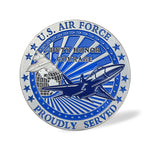 Us Air Force Earth Challenge Coin
