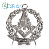 Masonic Past Master Silver Jewel Pendant the Square & Compass Symbol