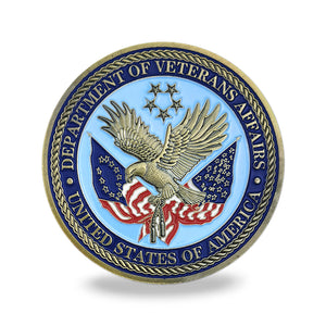 US Department Of Veterans Affair Challenge Coin