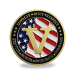 United States Army Veteran 1775 Challenge Coin